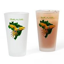 Brasil - Arara Drinking Glass