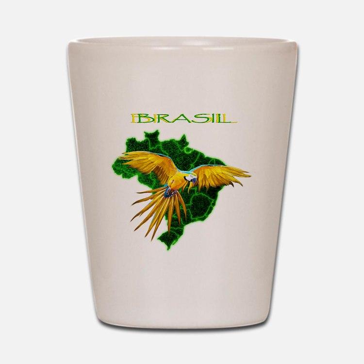 Brasil - Arara Shot Glass
