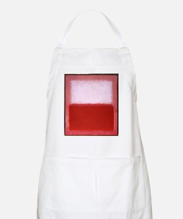ROTHKO RED AND WHITE Apron