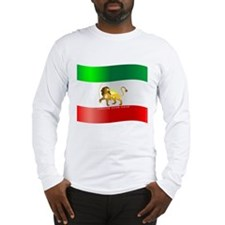 Parsa-Lion-Flag3 Long Sleeve T-Shirt