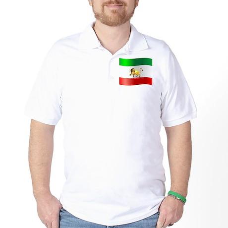 Parsa-Lion-Flag3 Golf Shirt