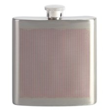 Pink Stripes Flask