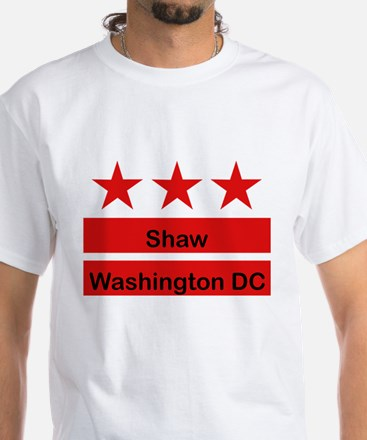 Shaw Black T-Shirt (Inspired by the DC Flag) T-Shi