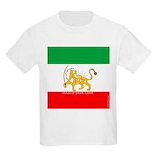 Parsa-Lion-Flag2 T-Shirt
