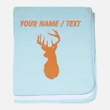 Custom Brown Buck Hunting Trophy Silhouette baby b