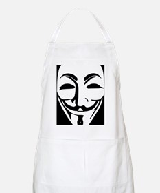 Anonymous Guy Fawkes Mask  Apron