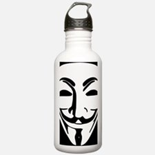 Anonymous Guy Fawkes M Water Bottle
