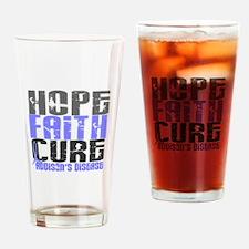 Hope Faith Cure Addison's Drinking Glass