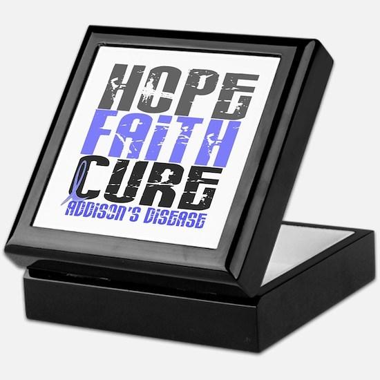 Hope Faith Cure Addison's Keepsake Box