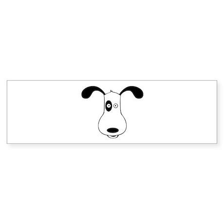 A Dog Named Spot Bumper Sticker