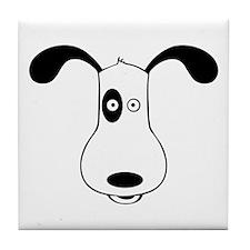 A Dog Named Spot Tile Coaster