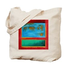 ROTHKO IN RED BLUE GREEN 2 Tote Bag