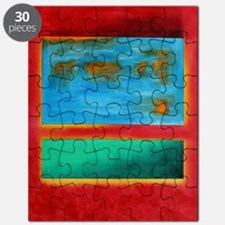 ROTHKO IN RED BLUE GREEN 2 Puzzle