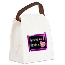 His Is The Only Music Canvas Lunch Bag