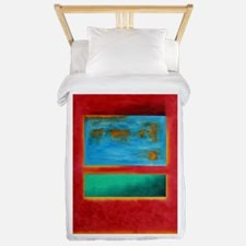 ROTHKO IN RED BLUE GREEN 2 Twin Duvet