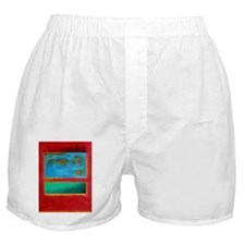ROTHKO IN RED BLUE GREEN 2 Boxer Shorts