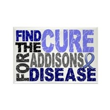 Find the Cure Addison's Rectangle Magnet