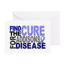 Find the Cure Addison's Greeting Card