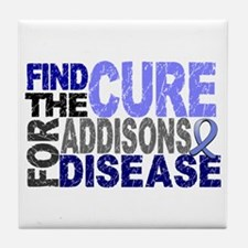 Find the Cure Addison's Tile Coaster