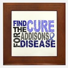 Find the Cure Addison's Framed Tile