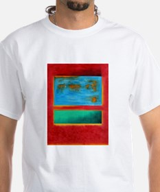 ROTHKO IN RED BLUE GREEN 2 T-Shirt