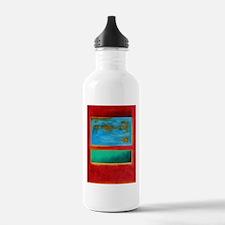 ROTHKO IN RED BLUE GREEN 2 Water Bottle