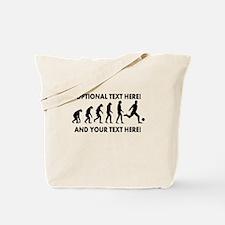 Personalized Soccer Evolution Tote Bag