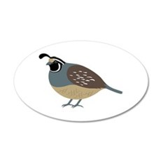 Valley Quail Wall Decal