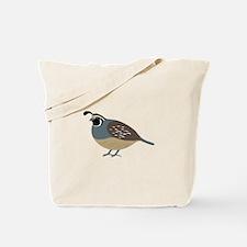 Valley Quail Tote Bag
