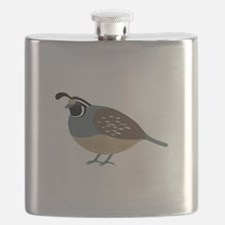 Valley Quail Flask