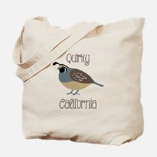 QUIRKY CALIFORNIA Tote Bag
