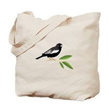 Lark Bunting Tote Bag