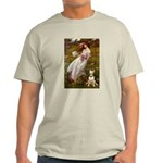 Windflowers Bull Terrier Light T-Shirt