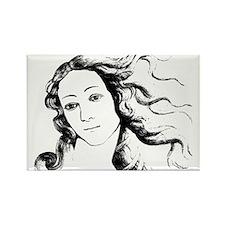 Goddess Venus Rectangle Magnet