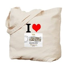 I Love Nyc Honey Tote Bag