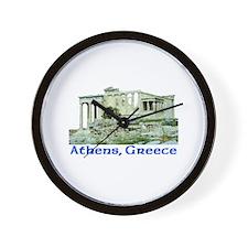 Athens, Greece (Acropolis) Wall Clock
