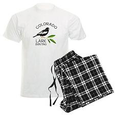 COLORADO LARK BUNTING Pajamas