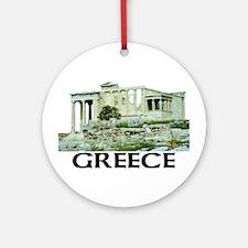 Greece (Acropolis) Ornament (Round)