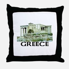 Greece (Acropolis) Throw Pillow
