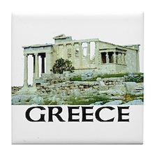 Greece (Acropolis) Tile Coaster