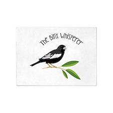 The Bird Whisperer 5'x7'Area Rug