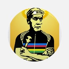 Saint Merckx Ornament (Round)