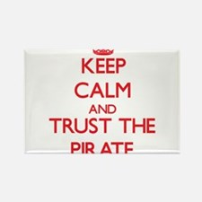 Keep Calm and Trust the Pirate Magnets
