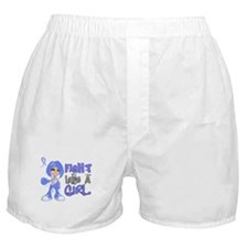 Licensed Fight Like a Girl 42.8 Addis Boxer Shorts