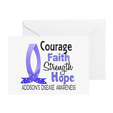 Courage Faith 1 Addison's Greeting Card