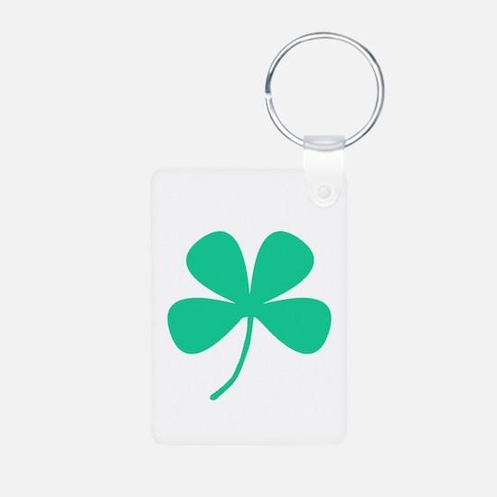 Green Irish Pride Shamrock Rocker Keychains