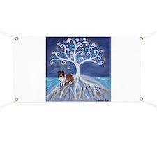 Shelltie Dog Tree Banner