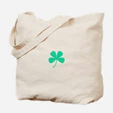 Green Irish Pride Shamrock Rocker Tote Bag