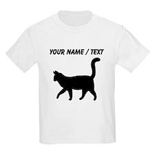 Custom Housecat Silhouette T-Shirt