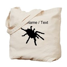 Custom Tarantula Silhouette Tote Bag